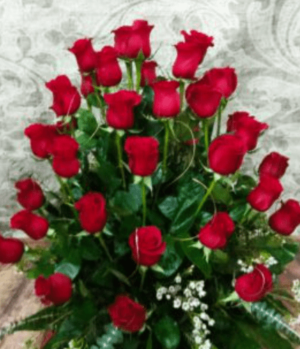 Centro 36 rosas