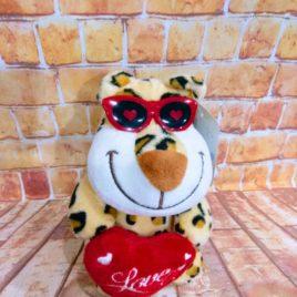 PELUCHE CORAZÓN LOVE  RF 1027 JAGUAR LOVE